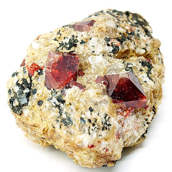minerales: zircón rojo